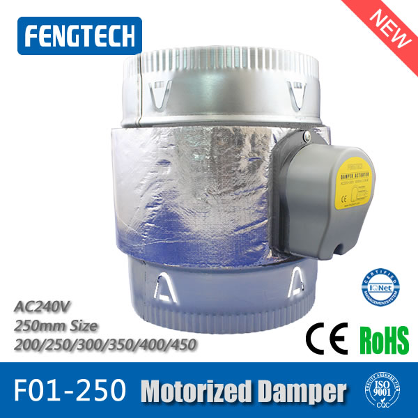 F01-250 Motorized Damper