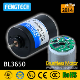 BL3650 Brushless Motors with Built-in Driver